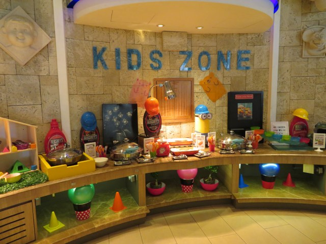 Shangri La Kids Zone buffet