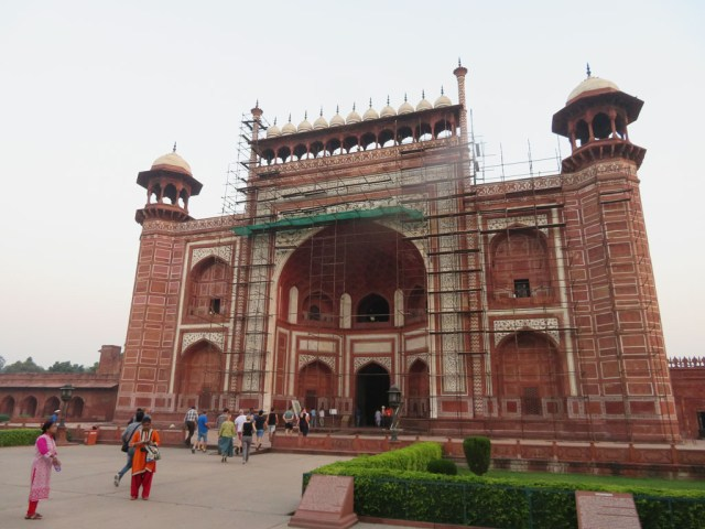Taj Mahal entrance gate