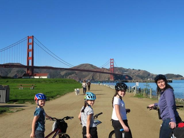Golden Gate Bridge bike hire