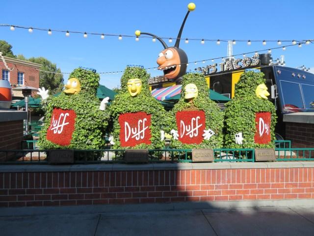 Springfield - Universal Studios Hollywood