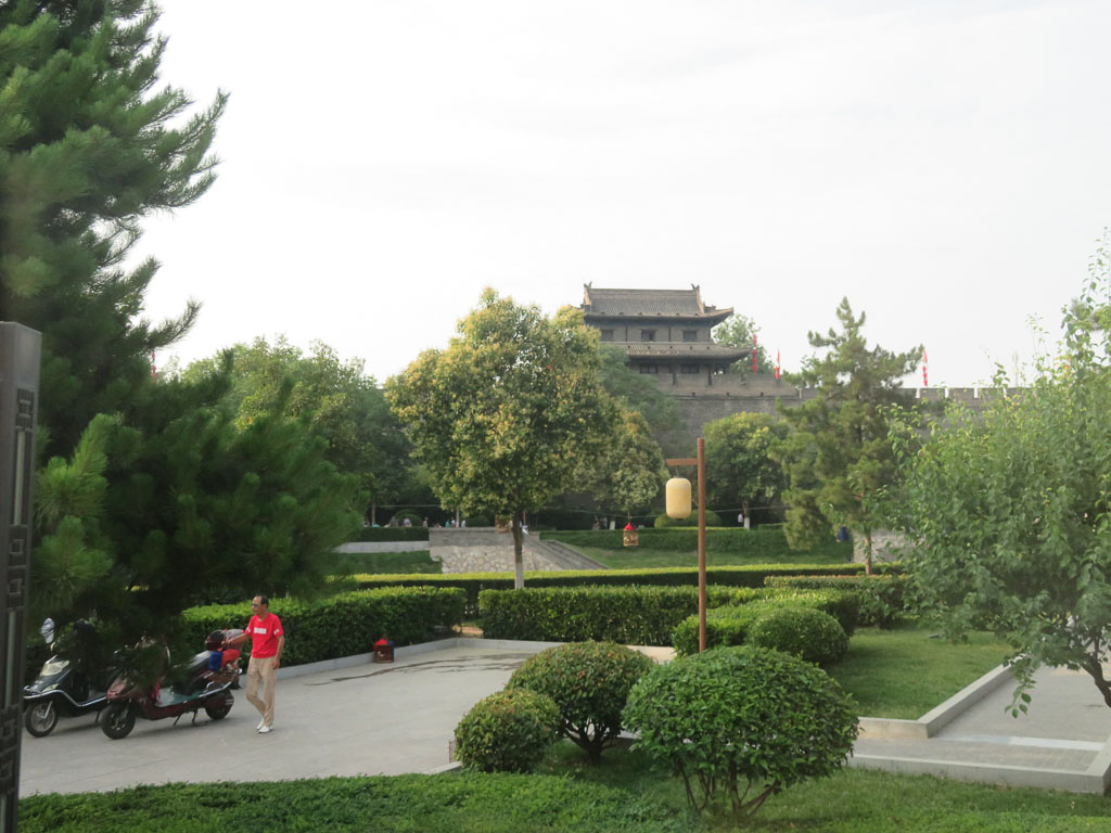 The Xian Wall Tower