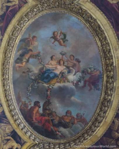 Ceiling mural, Versailles