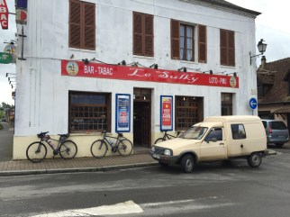 Coffee stop in St Germer-de-Fly