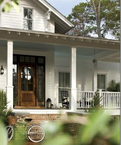 Farmhouse Entry Door Shopping + Choosing Ours