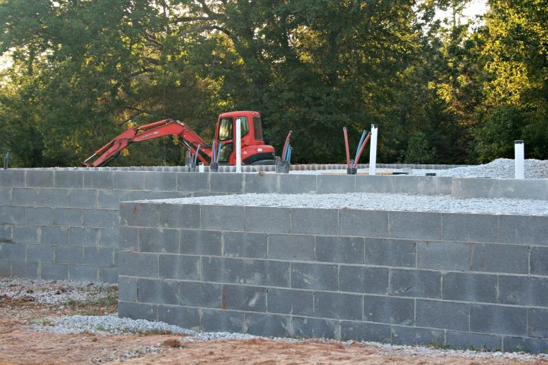 Building a house foundation work our alabama life for Building a house in alabama
