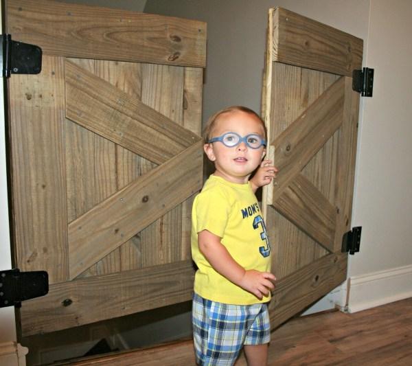 How To Build A Rustic Barn Door Baby Gate