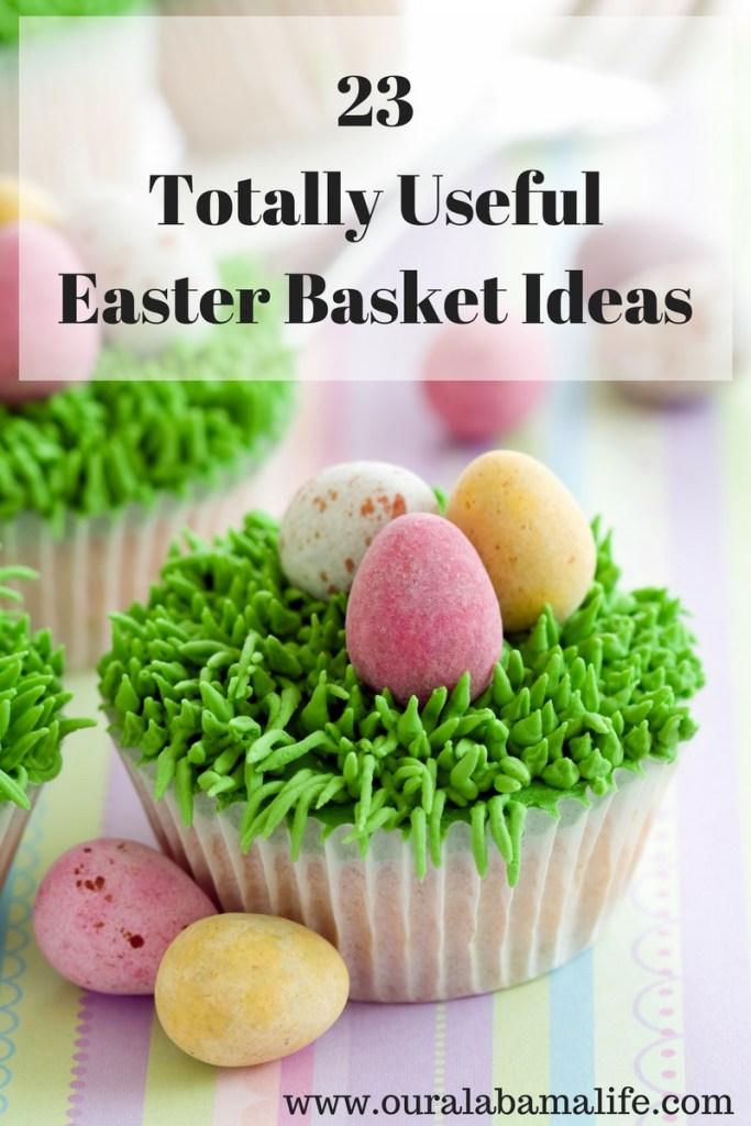 useful easter basket ideas