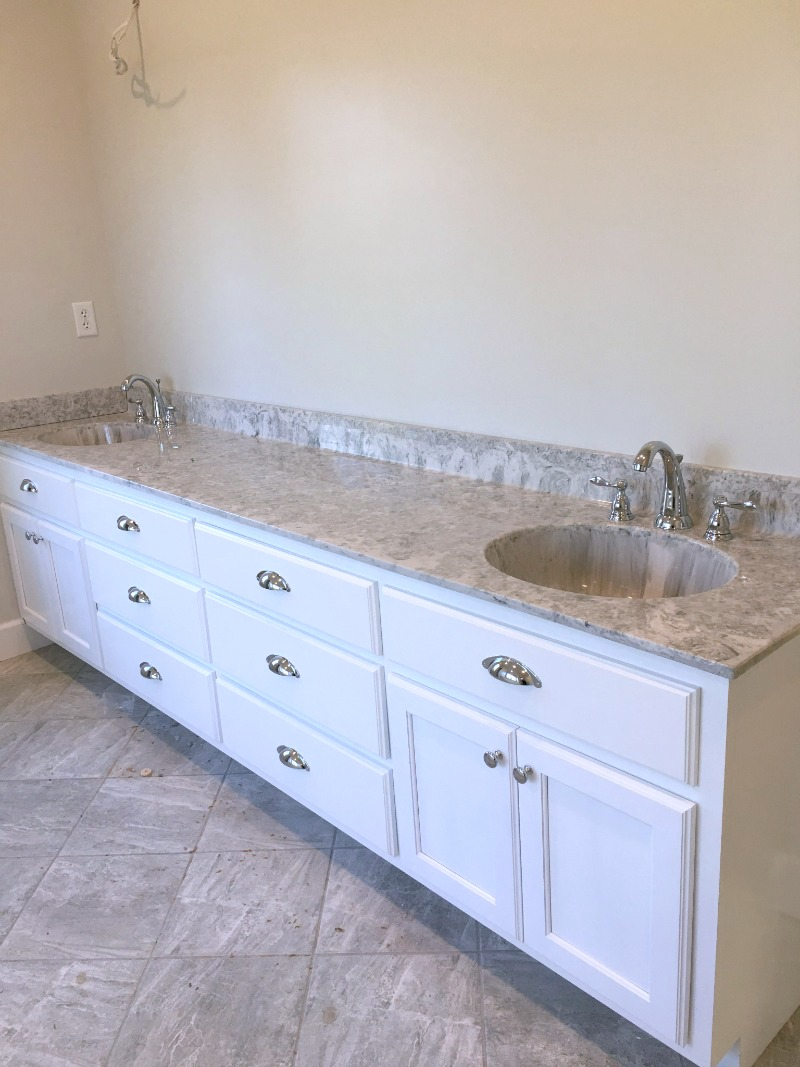 Farmhouse Master Bathroom Update - Our Alabama Life