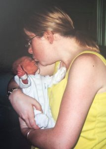 Its ok for forget me - me kissing Harry as a newborn