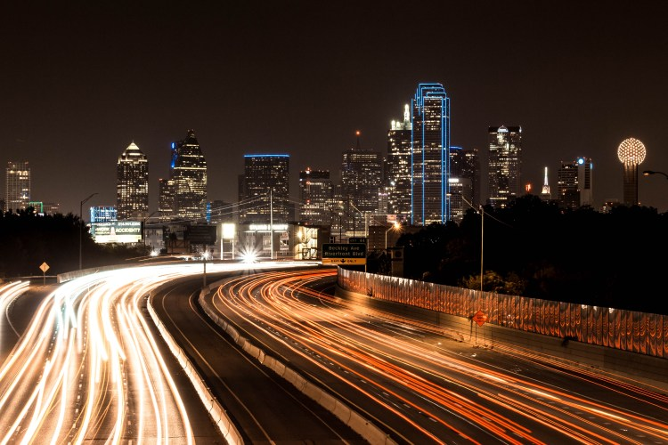 Dallas de nuit