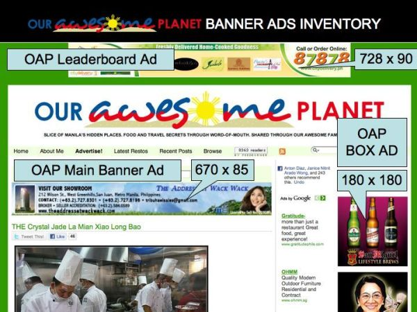 OAP Inventory Ads