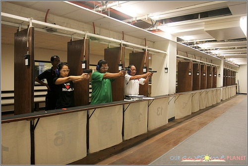 Our First Firing Range Experience • Our Awesome Planet