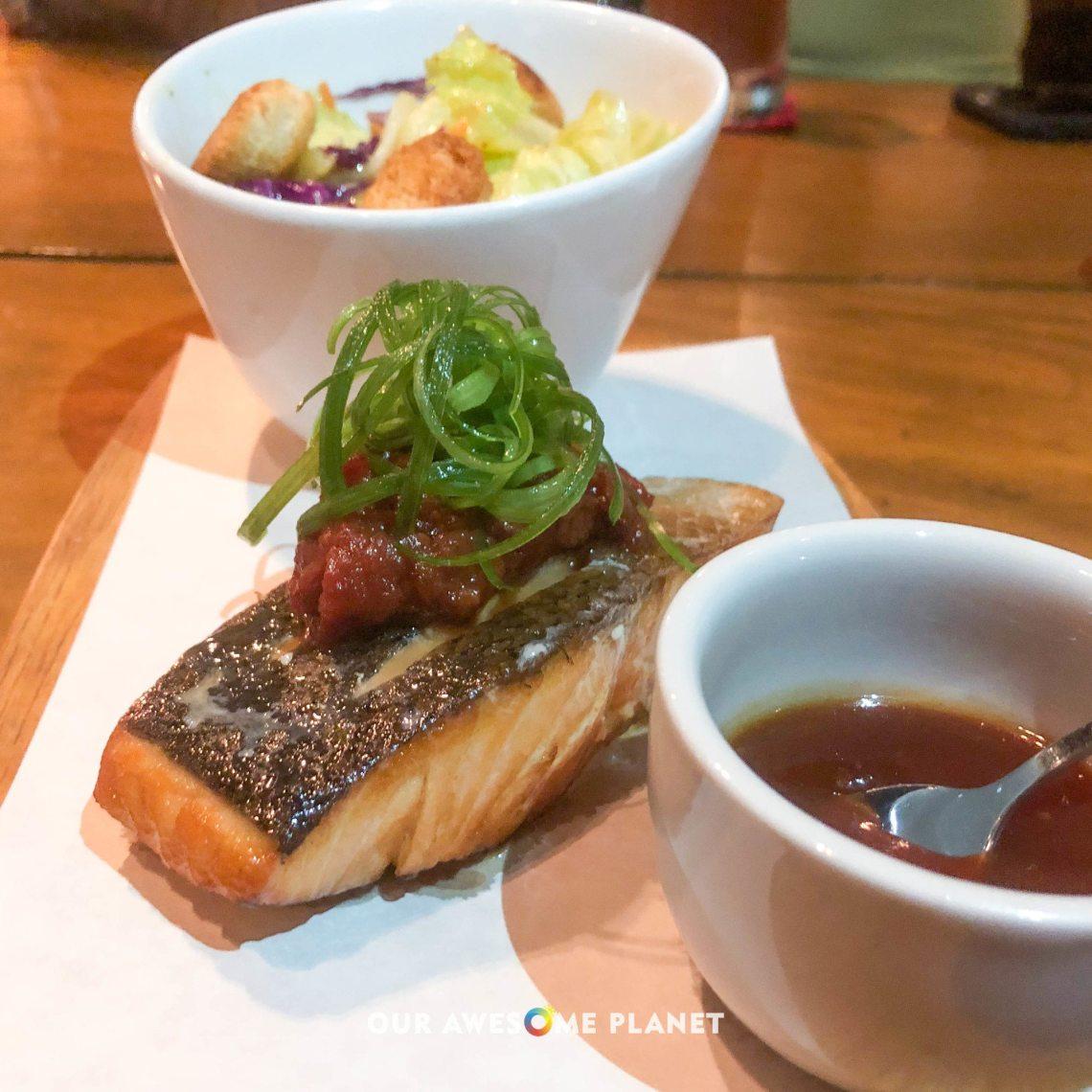 Pan-Roasted Salmon Fillet