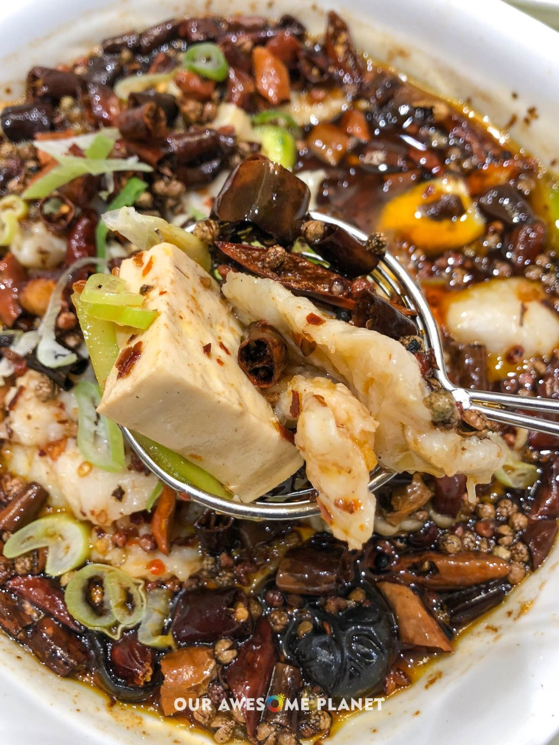 Szechuan Fresh Fish Fillet