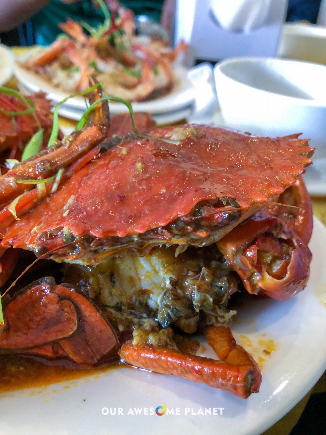 Sweet Chili Crab