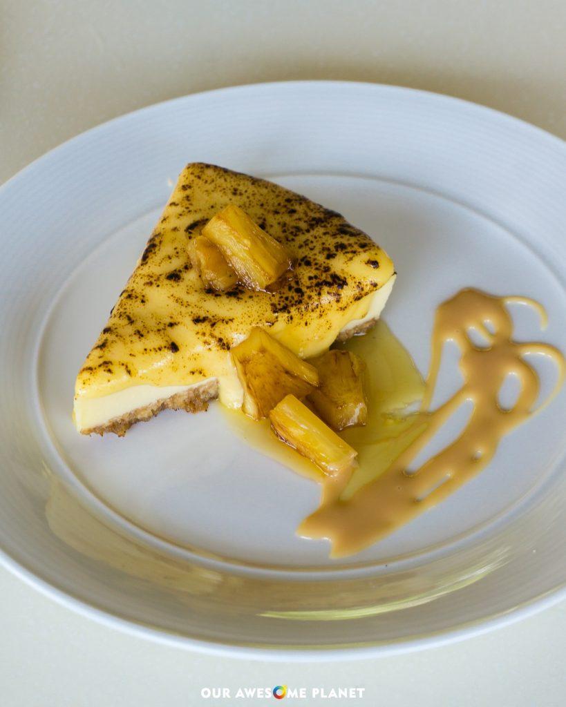Yema Cheese Cake