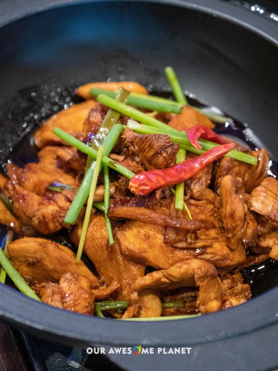 Stir Fry Ginger Garlic Chicken