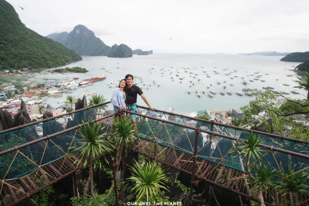 In here you can enjoy a short guided ascend up the ancient limestone cliffs of El Nido and be rewarded with the best view in town.