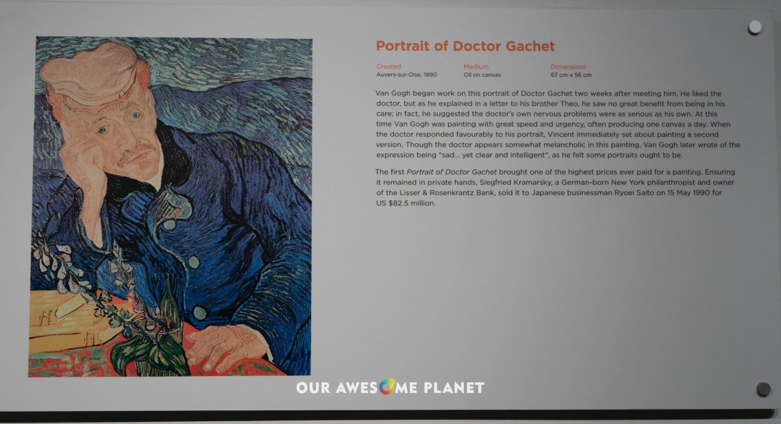 Portrait of Doctor Gachet