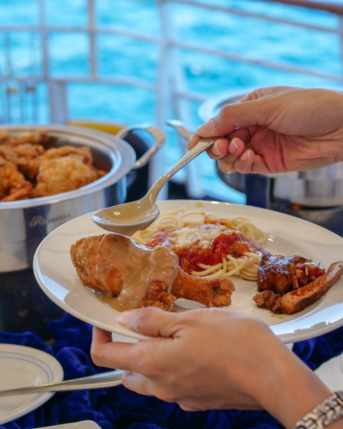 Culion Island Lunch on Board