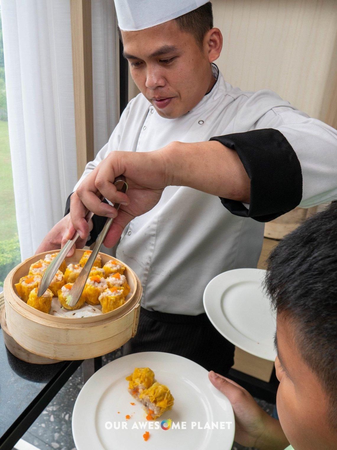 Steamed Pork and Shrimp Siomai