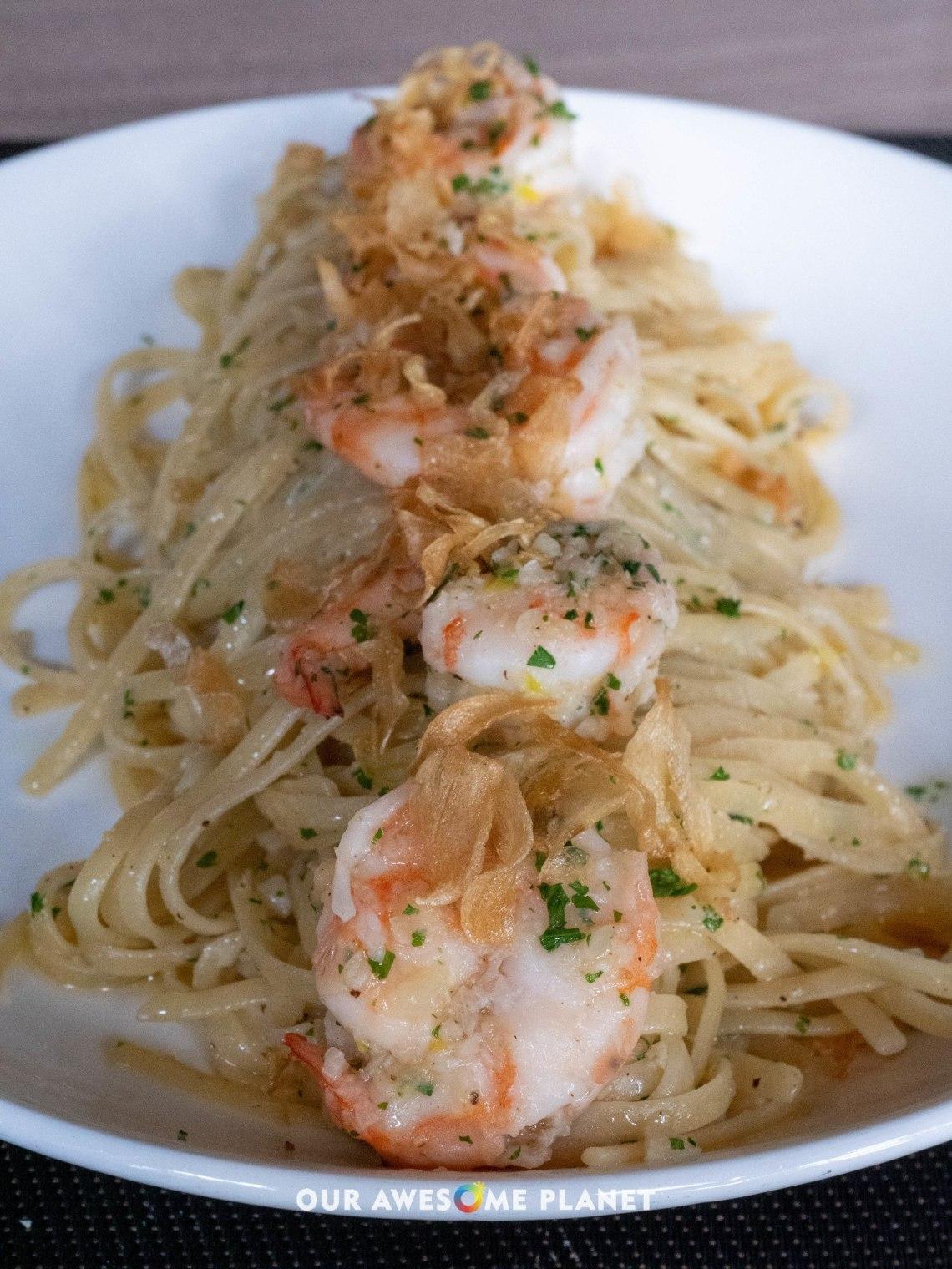 Prawn Garlic Noodles