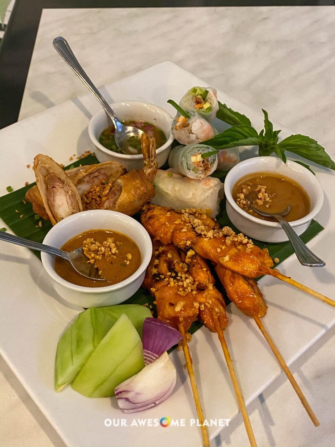 Vietnamese Platter