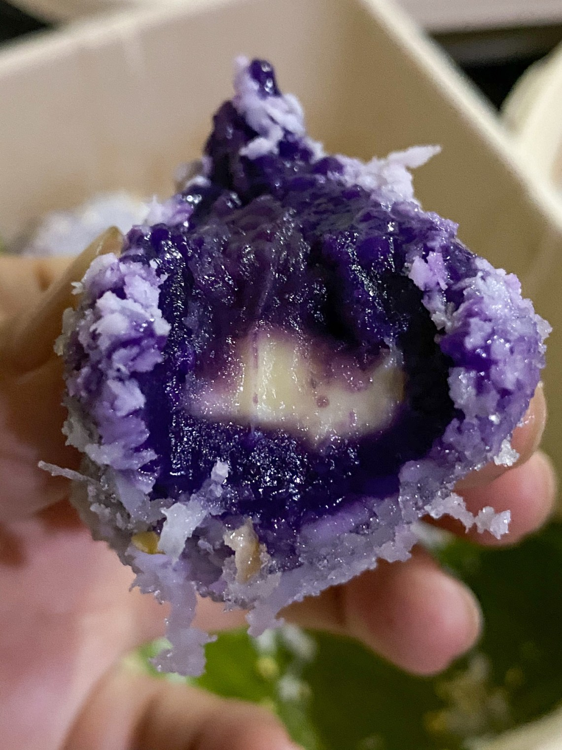 Ube Cheese Palitaw (₱120) for 8 pieces