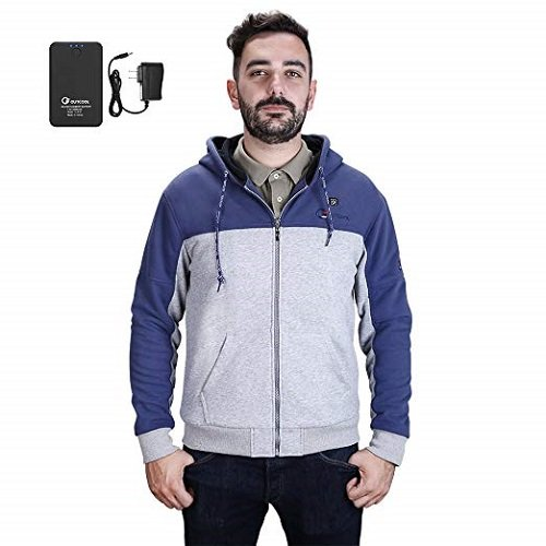 OUTCOOL Men's Cordless Heated Hoodie