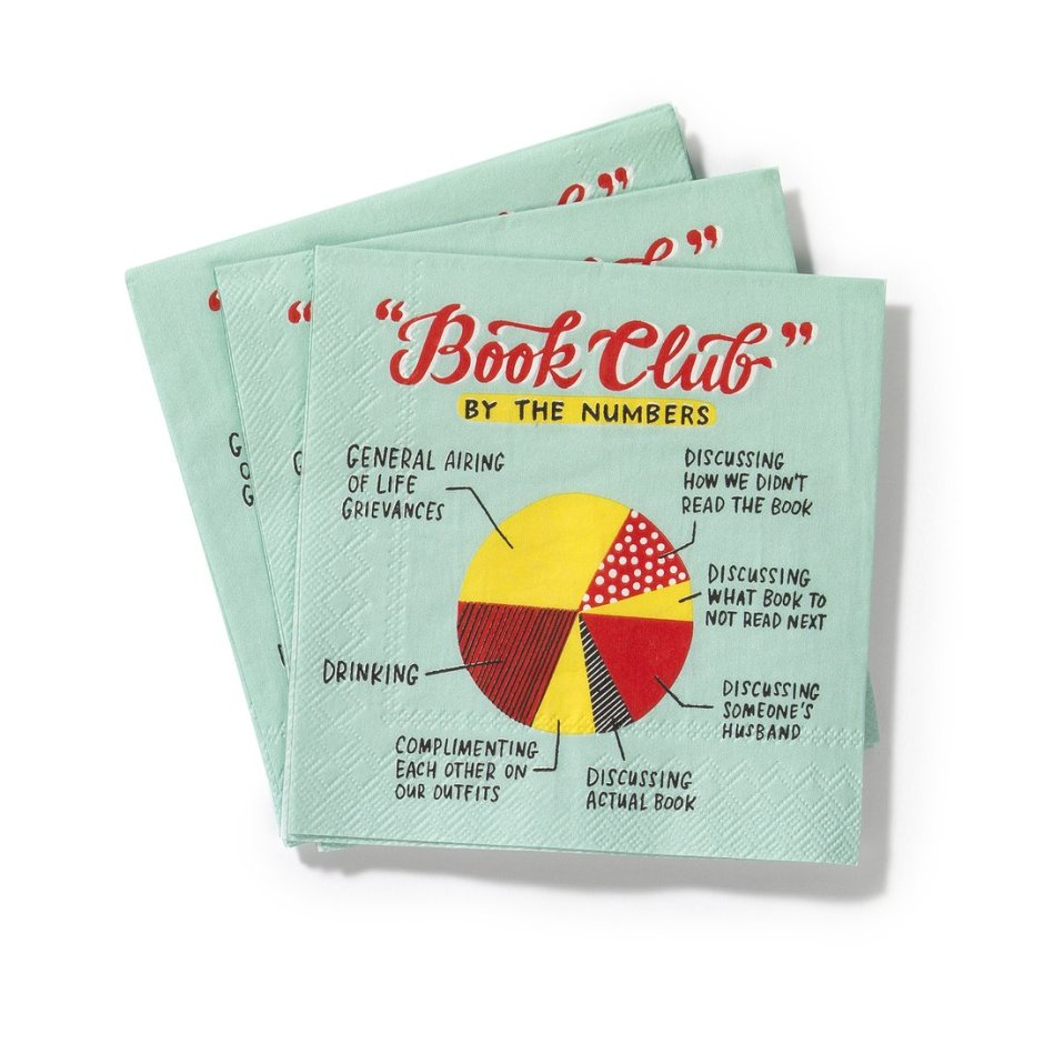 Book Group Napkins