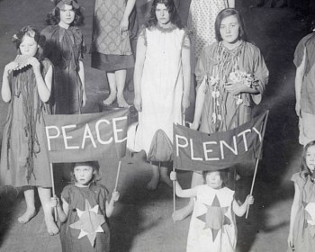 Four Corners Suffragette evening