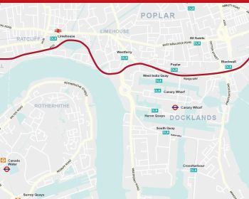 London Triathlon Route 2019