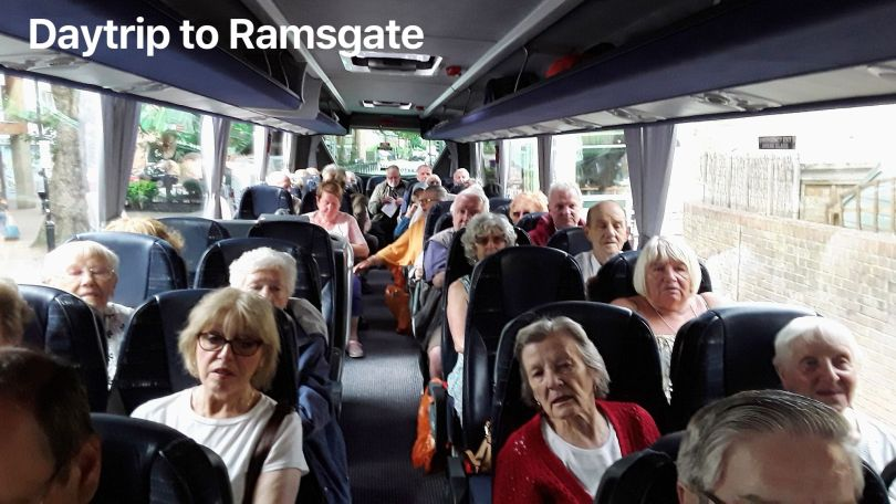 Geezers and Bow Bowls on day trip to Ramsgate 30th Aug 2019