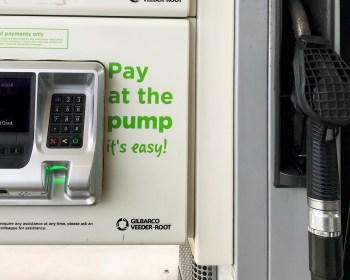 Pay at the pump card payments only