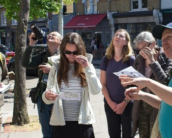 Urban Tree Festival May 2018. Explore the Urban Forest: Peckham