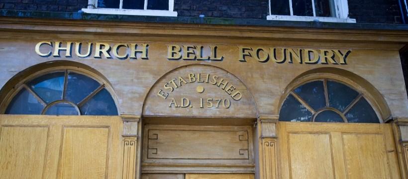 Whitechapel Bell Foundry signboard