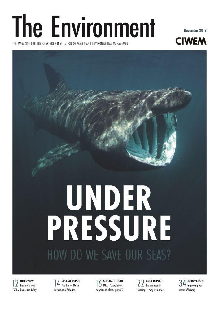 The Environment Magazine cover Nov 2019