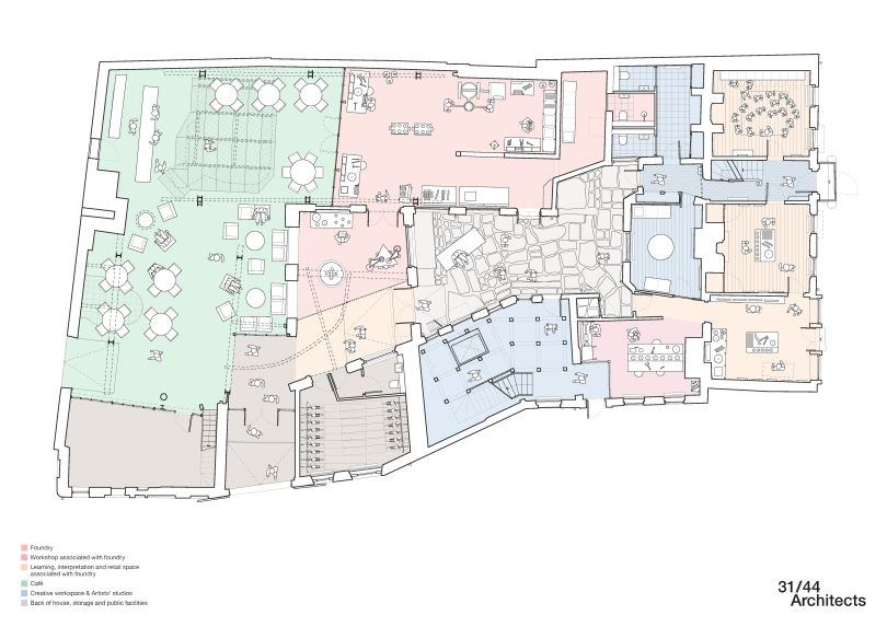 Old Foundry Ground Floor Plan