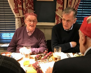 Geezers Christmas Lunch 2019
