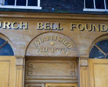 Whitechapel Bell Foundry old shopfront