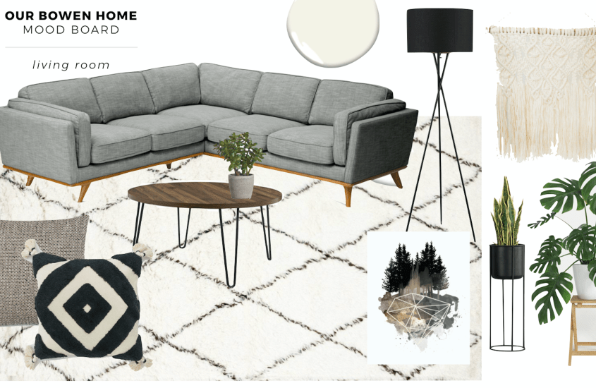 Turning our Living Room into a Relaxation Haven (+ a Mood Board)