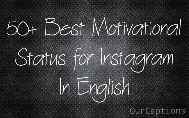 Motivational Status for instagram & Captions