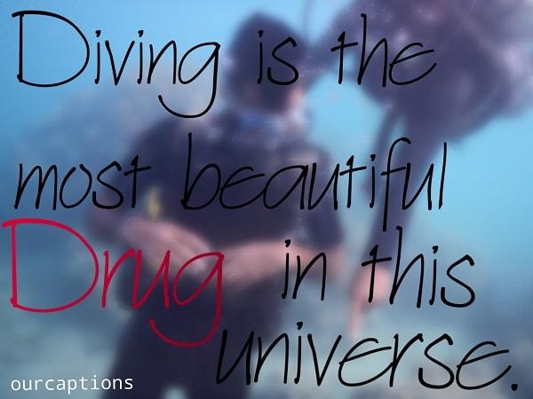 Scuba Diving Caption for Instagram