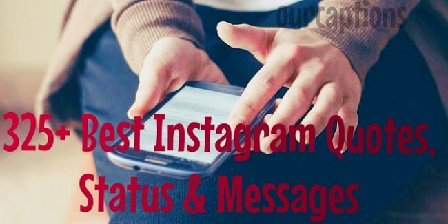 Instagram status, quotes and messages