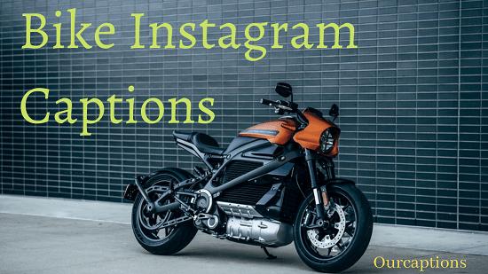 New Bike Captions for Instagram