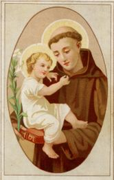 Picture of St. Anthony courtesy of Chant Art