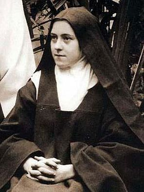 Picture of St. Therese courtesy of Wikipedia
