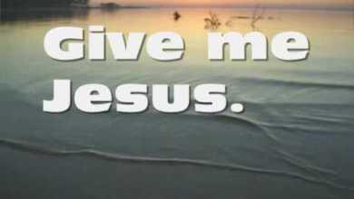 Photo of Jeremy Camp – Give Me Jesus