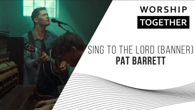 Photo of Pat Barrett  // Sing To The Lord (Banner) // New Song Cafe
