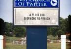church social media